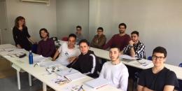 Gestern hat unsere dritte Gruppe AZUBIs ihren Deutsch-Intensivkurs begonnen !