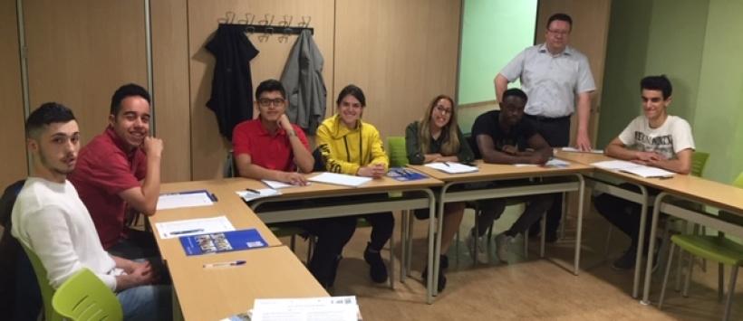Besuch von Firmenvertretern aus Mecklenburg bei unseren AZUBI-Anwärtern