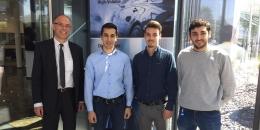 Jóvenes ingenieros españoles en Makino (Alemania)