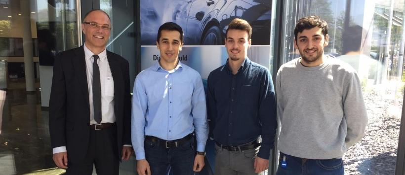 Spanische Nachwuchsingenieure bei Makino Deutschland
