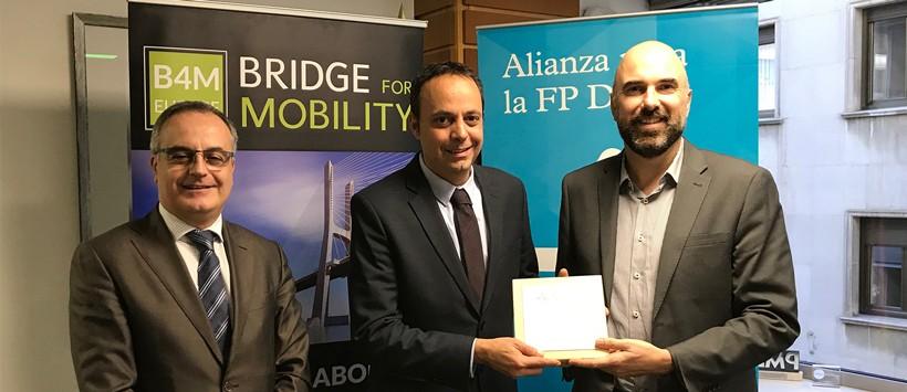 Bridge4Mobility se une a la Alianza para la FP Dual