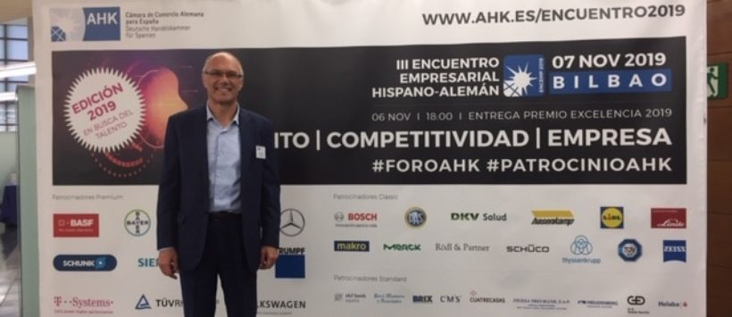 B4M beim III. spanisch-deutschen Unternehmertreffen in Bilbao