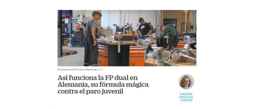 La fórmula mágica de la FP Dual contra el paro juvenil