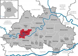 Mapa Eichstätt