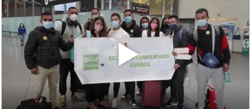 Die ersten 22 Pflegekräfte aus Kolumbien sind in Österreich eingetroffen !
