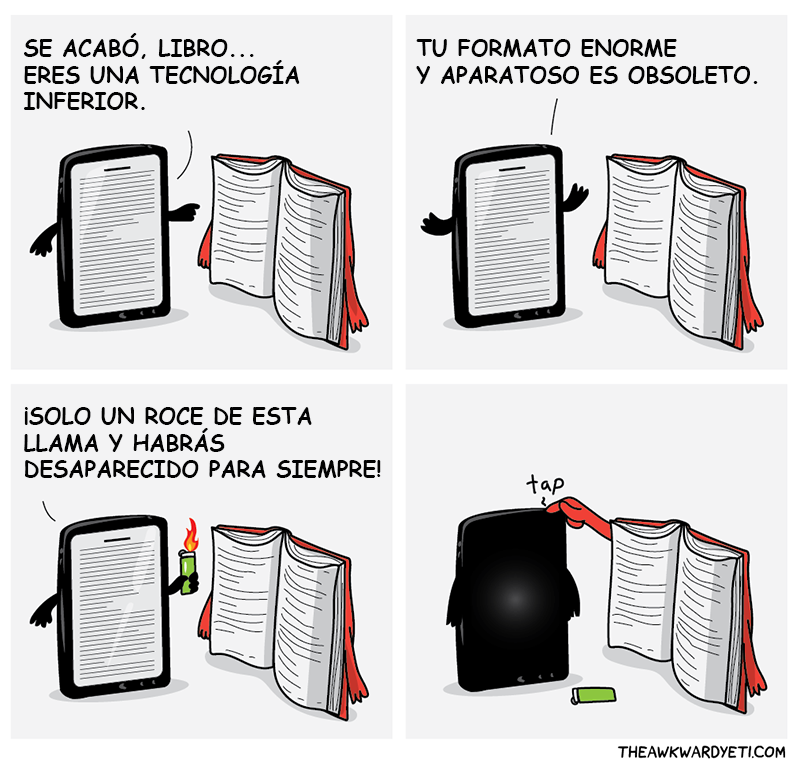 ebook vs libro