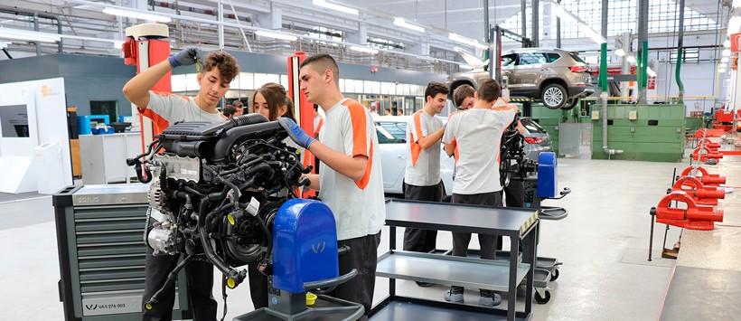 Alemania, Suiza y Holanda son referentes en la Formación Profesional Dual
