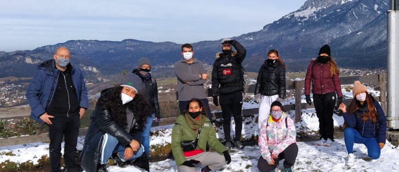 Erste Gruppe zukünftiger Pflegeassistenten in Reutte (Tirol) angekommen