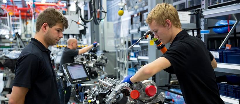 La economía alemana se encuentra en fuerte crecimiento