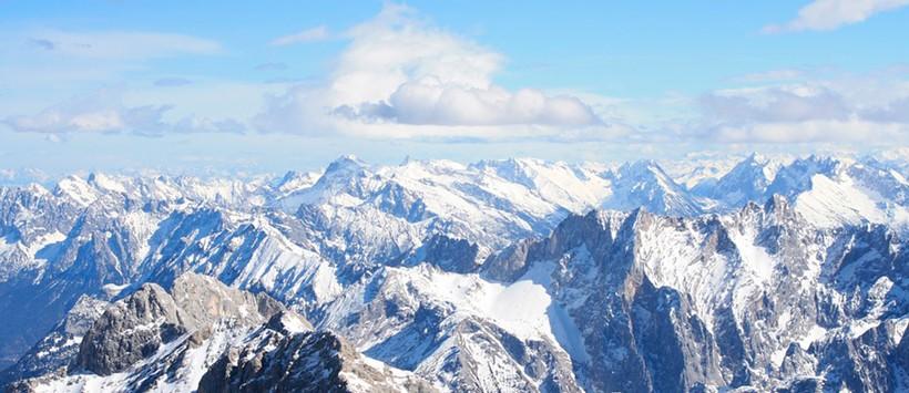 Zugspitze la montaña que te acerca al cielo de Alemania
